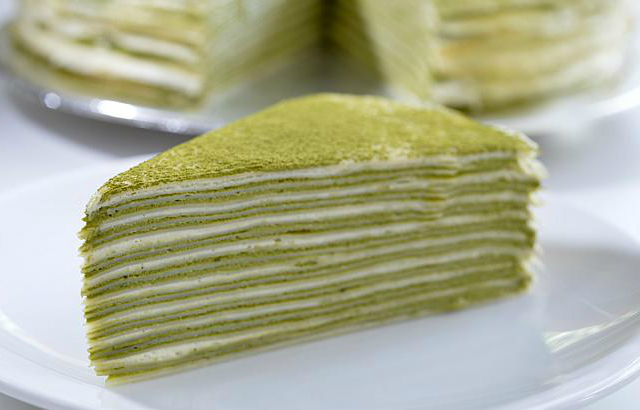 Mille crepes cake ricetta
